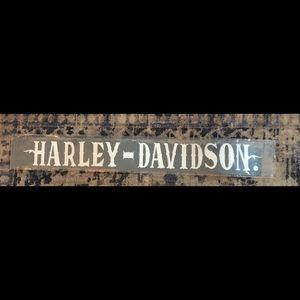 Harley Davidson windshield decal